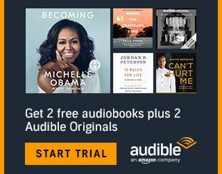 Two Free Audiobooks With Audible Free Trial