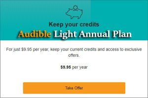 Audible Light Annual Plan