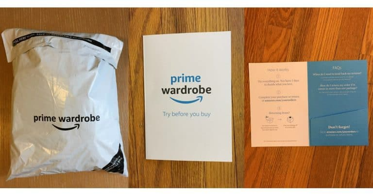 What do you get with Amazon Prime: Prime Wardrobe