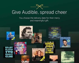 Audible Subscription Gifts for Book Lovers