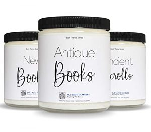 Book Candles - 3, 4 ounce Candle Sets