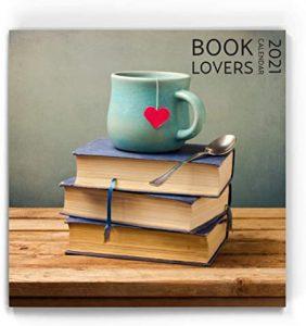 Booklovers Wall Calendar 2021