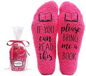 Bring Me a Book Funny Socks