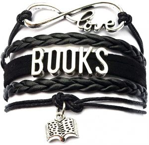 Infinity Love Books Bracelet