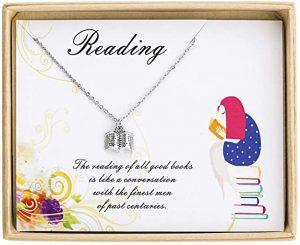 Sunique Book Lover Necklace