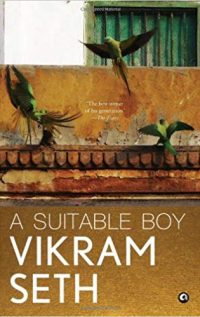 A Suitable Boy Book Cover