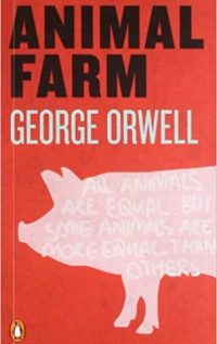Interesting books to read: Animal Farm Book Cover