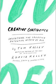 Best Creativity Books: Creative Confidence Book Cover