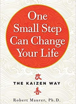 Book Cover of 'One Small Step Can Change Your Life'