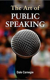 The Art of Public Speaking Book Cover