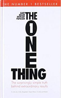 Life-Changing Books: The One Thing