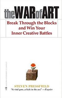 Best Books on Creativity: The War of Art Book Cover