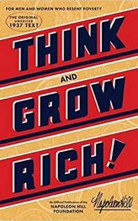 Think And Grow Rich Book Cover