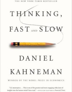 Book Cover of 'Thinking Fast and Slow'